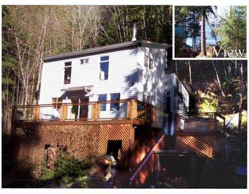 "Main Photo: 7652 SECHELT INLET Road in Sechelt: Sechelt District House for sale in ""TUWANEK"" (Sunshine Coast)  : MLS®# V715033"