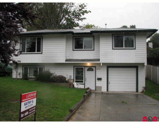 Main Photo: 35319 PURCELL AV in Abbotsford: House for sale : MLS®# F2827398