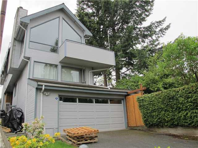 Main Photo: 3695 W 14TH AV in Vancouver: Point Grey House for sale (Vancouver West)  : MLS®# V891459