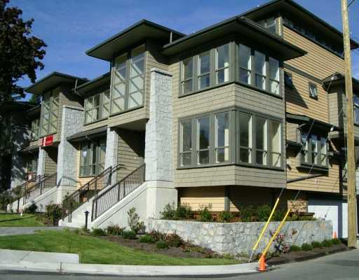 """Main Photo: 1664 ST.GEORGES AV in North Vancouver: Central Lonsdale Townhouse for sale in """"CHEHALIS"""" : MLS®# V612022"""