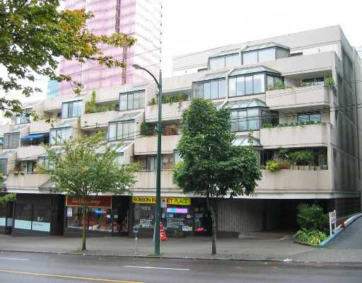 """Main Photo: 300 1455 ROBSON Street in Vancouver: West End VW Condo for sale in """"THE COLONNADE"""" (Vancouver West)  : MLS®# V672154"""