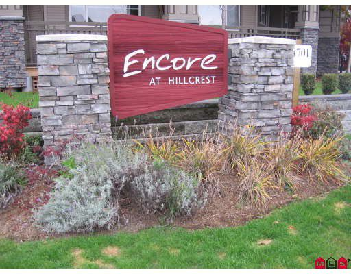 """Main Photo: 106 18701 66TH Avenue in Surrey: Cloverdale BC Townhouse for sale in """"ENCORE AT HILLCREST"""" (Cloverdale)  : MLS®# F2728531"""