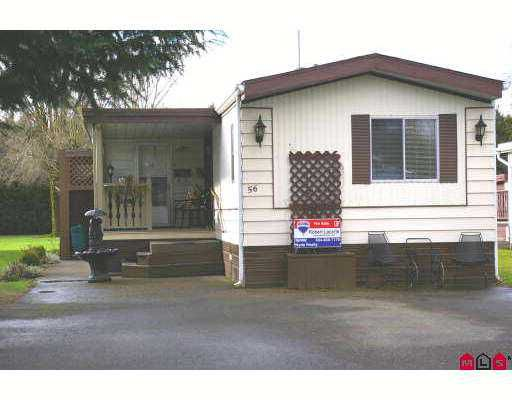 Main Photo: 56 45111 WOLFE Road in Chilliwack: Chilliwack  W Young-Well Manufactured Home for sale : MLS®# H2701101