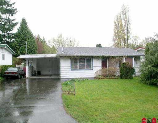 Main Photo: 2305 GRANT ST in ABBOTSFORD: Abbotsford West House for rent (Abbotsford)