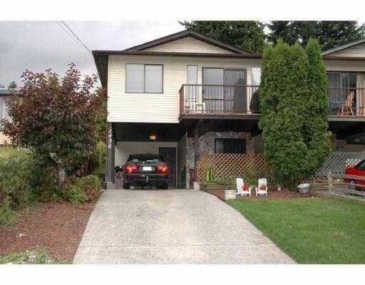 Main Photo: 1436 PITT RIVER RD in Port Coquiltam: Mary Hill House 1/2 Duplex for sale (Port Coquitlam)  : MLS®# V554815