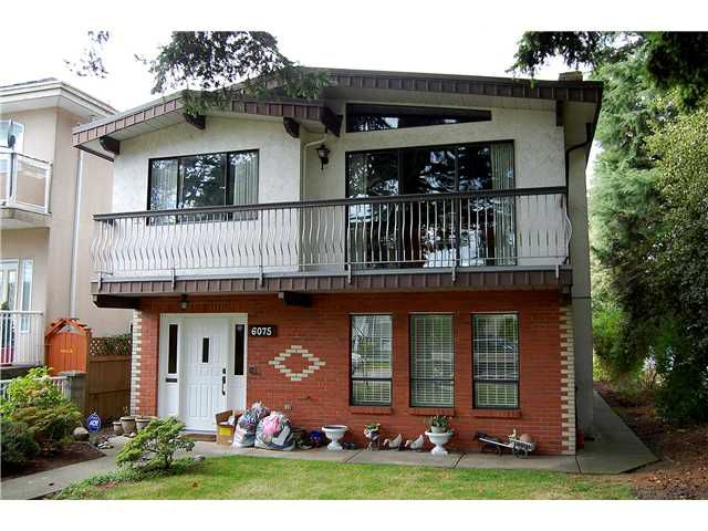 Main Photo: 6075 CHESTER ST in Vancouver: Fraser VE House for sale (Vancouver East)  : MLS®# V913819