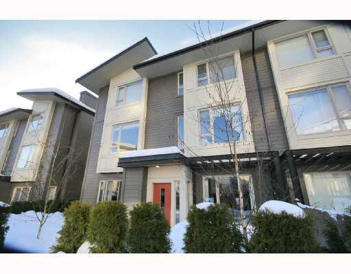 "Main Photo: 92 9229 UNIVERSITY Crescent in Burnaby: Simon Fraser Univer. Townhouse for sale in ""SERENITY"" (Burnaby North)  : MLS®# V687914"