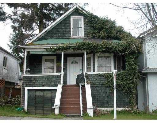Main Photo: 461 E 30TH Avenue in Vancouver: Fraser VE House for sale (Vancouver East)  : MLS®# V700529