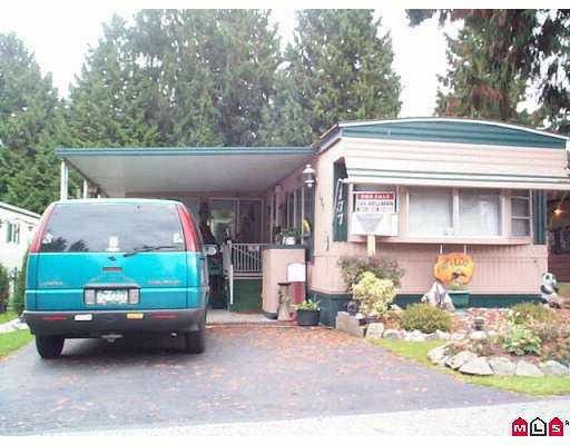"""Main Photo: 177 7790 KING GEORGE Highway in Surrey: East Newton Manufactured Home for sale in """"Crispen Bays Mobile Home Park"""" : MLS®# F2812388"""