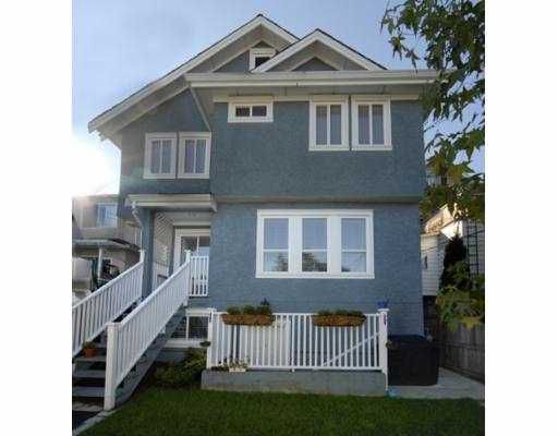 """Main Photo: 855 E 13TH Avenue in Vancouver: Mount Pleasant VE House 1/2 Duplex for sale in """"MOUNT PLEASANT"""" (Vancouver East)  : MLS®# V672691"""