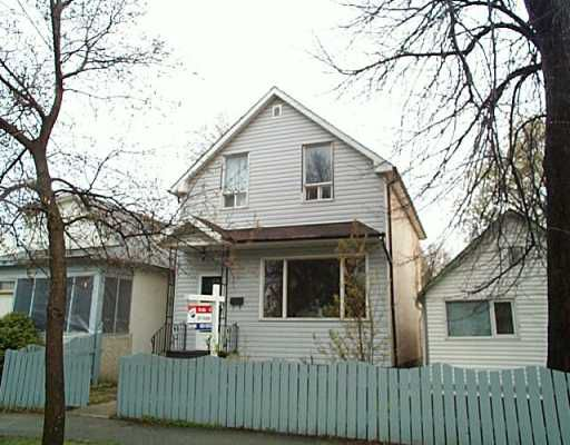 Main Photo:  in Winnipeg: North End Single Family Detached for sale (North West Winnipeg)  : MLS®# 2506421