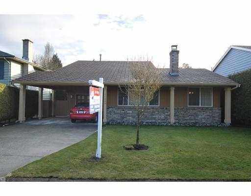 Main Photo: 11480 PINTAIL Drive in Richmond: Westwind House for sale : MLS®# V686554