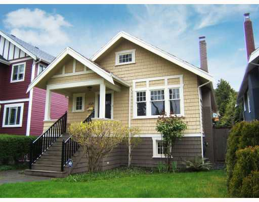 """Main Photo: 3329 W 10TH Avenue in Vancouver: Kitsilano House for sale in """"""""KITS"""""""" (Vancouver West)  : MLS®# V704507"""