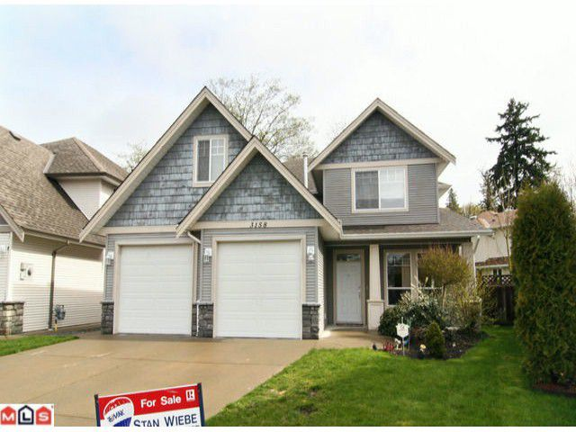 """Main Photo: 3158 COALMAN PL in Abbotsford: Aberdeen House for sale in """"STATION ROAD/ALDERGROVE"""" : MLS®# F1110805"""