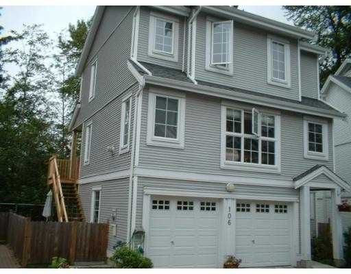 "Main Photo: 106 3000 RIVERBEND DR in Coquitlam: Coquitlam East House for sale in ""RIVERBEND"" : MLS®# V545512"