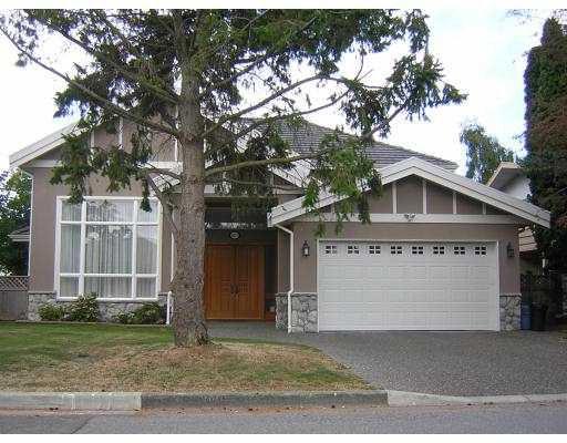 Main Photo: 8851 FAIRDELL in Richmond: Seafair House for sale : MLS®# V673410
