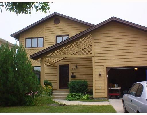 Main Photo: 46 BRITTANY Drive in WINNIPEG: Murray Park Single Family Detached for sale (South Winnipeg)  : MLS®# 2714300