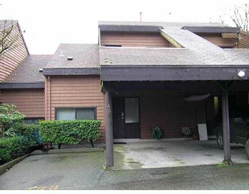 """Main Photo: 436 CAMBRIDGE Way in Port_Moody: College Park PM Townhouse for sale in """"ESTHILL"""" (Port Moody)  : MLS®# V677972"""