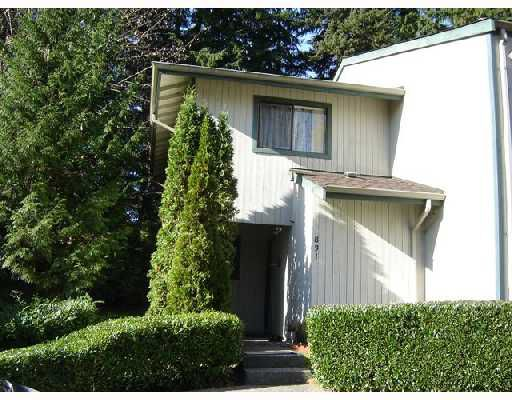 Main Photo: 831 ALEXANDER Bay in Port_Moody: North Shore Pt Moody Townhouse for sale (Port Moody)  : MLS®# V679420