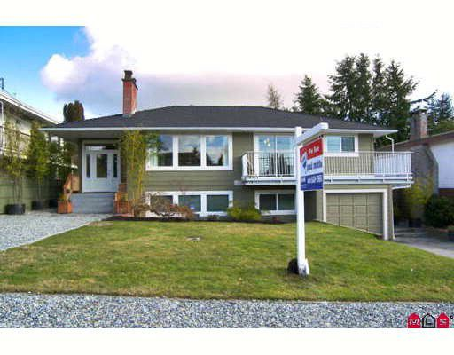 """Main Photo: 1082 HABGOOD Street in White_Rock: White Rock House for sale in """"White Rock"""" (South Surrey White Rock)  : MLS®# F2804030"""