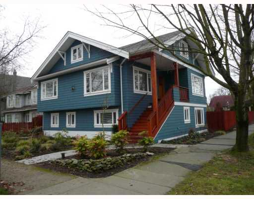 Main Photo: 3088 W 11TH Avenue in Vancouver: Kitsilano House for sale (Vancouver West)  : MLS®# V686190