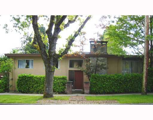 Main Photo: 3493 W 23RD Avenue in Vancouver: Dunbar House for sale (Vancouver West)  : MLS®# V655484