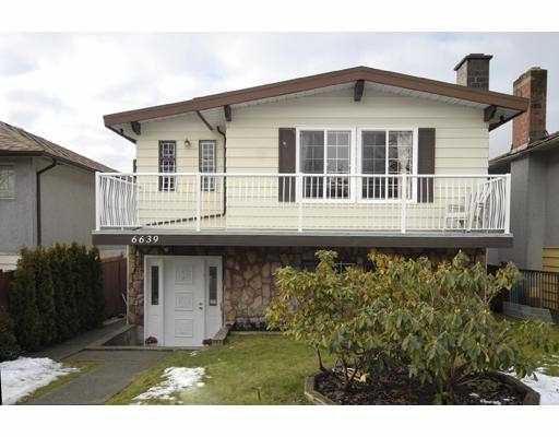 Main Photo: 6639 TYNE Street in Vancouver: Killarney VE House for sale (Vancouver East)  : MLS®# V687030