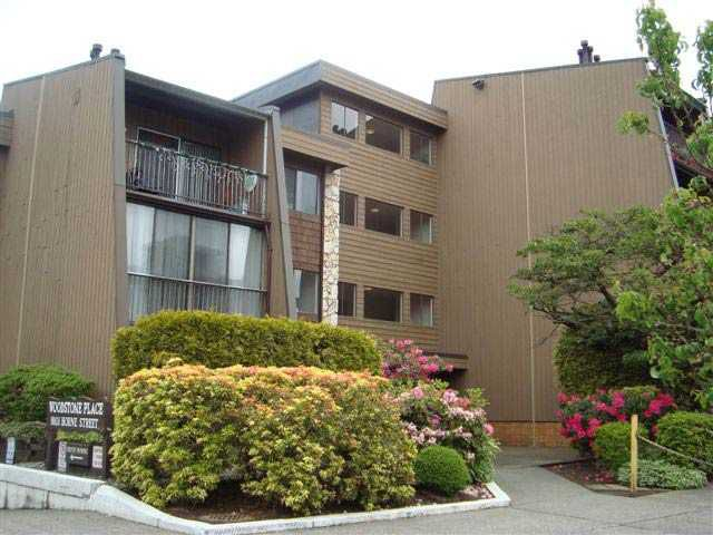 """Main Photo: # 110 9101 HORNE ST in Burnaby: Government Road Condo for sale in """"WOODSTONE PLACE"""" (Burnaby North)  : MLS®# V833656"""