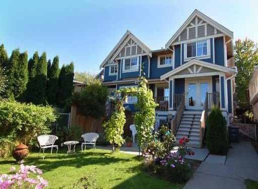 Main Photo: 1135 E. 15th Avenue in Vancouver: Mount Pleasant VE Townhouse for sale (Vancouver East)  : MLS®# V751654