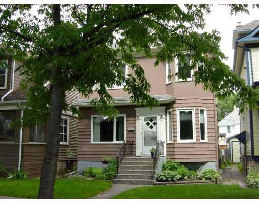 Main Photo: 91 LIPTON Street in WINNIPEG: West End / Wolseley Single Family Detached for sale (West Winnipeg)  : MLS®# 2711179