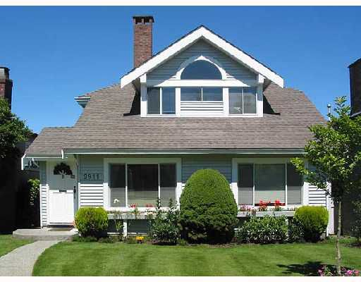 Main Photo: 2911 W 23RD Avenue in Vancouver: Arbutus House for sale (Vancouver West)  : MLS®# V657523