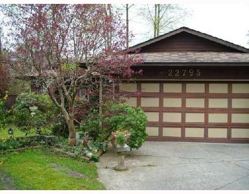 Main Photo: 22795 BALABANIAN Crescent in Maple_Ridge: East Central House for sale (Maple Ridge)  : MLS®# V707313