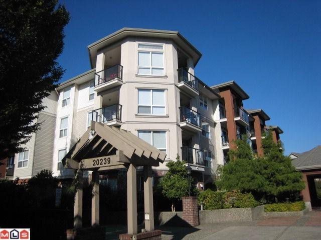 "Main Photo: # 107 20239 MICHAUD CR in Langley: Langley City Condo for sale in ""CITY GRANDE"" : MLS®# F1101531"