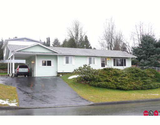 Main Photo: 7912 BURDOCK Street in Mission: Mission BC House for sale : MLS®# F2803465