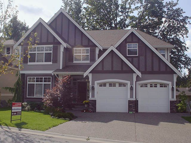 """Main Photo: 3587 Creekstone Drive in Abbotsford: Abbotsford East House for sale in """"Creekstone on the Park"""""""