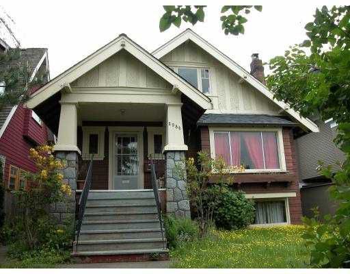 Main Photo: 2986 POINT GREY Road in Vancouver: Kitsilano House for sale (Vancouver West)  : MLS®# V712749