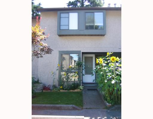 """Main Photo: #32 3190 Tahsis Avenue in Coquitlam: New Horizons Townhouse for sale in """"NEW HORIZON ESTATES"""" : MLS®# V667178"""