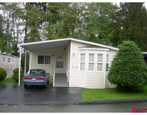 """Main Photo: 146 7790 KING GEORGE Highway in Surrey: West Newton Manufactured Home for sale in """"Crispen Bays"""" : MLS®# F2727462"""