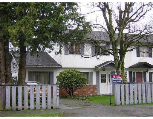 Main Photo: 3940 BLUNDELL Road in Richmond: Seafair House 1/2 Duplex for sale : MLS®# V631069