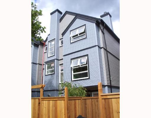 Main Photo: 5 888 W 16TH Avenue in Vancouver: Cambie Townhouse for sale (Vancouver West)  : MLS®# V655119