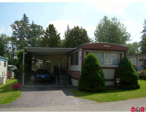 "Main Photo: 164 7790 KING GEORGE Highway in Surrey: East Newton Manufactured Home for sale in ""Crispen Bays"" : MLS®# F2816648"