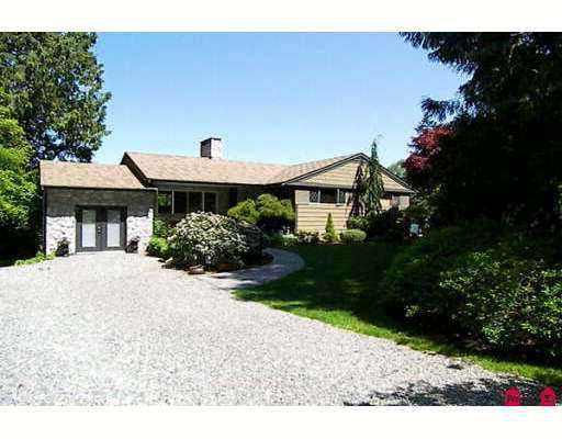 Main Photo: 13889 28TH Avenue in White_Rock: Sunnyside Park Surrey House for sale (South Surrey White Rock)  : MLS®# F2712630