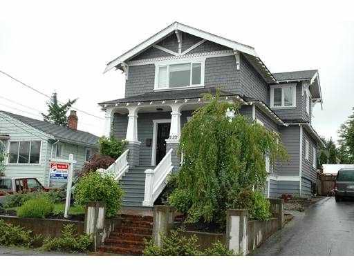 Main Photo: 222 PRINCESS ST in New Westminster: GlenBrooke North House for sale : MLS®# V542472