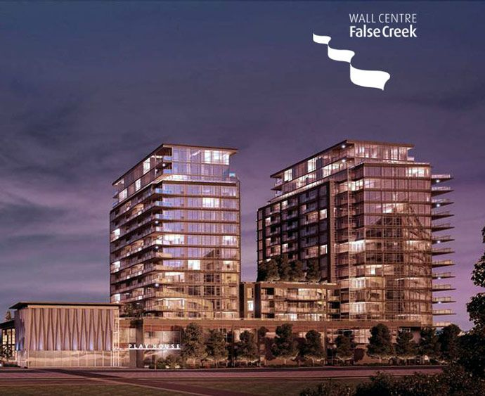 Main Photo: #1109 W 1st Tower 2 in Vancouver: False Creek Condo  (Vancouver West)
