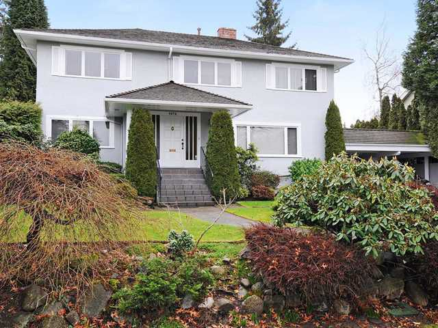 Main Photo: 6076 ANGUS Drive in Vancouver: South Granville House for sale (Vancouver West)  : MLS®# V870070