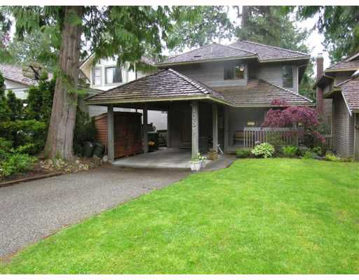 Main Photo: 1051 CANYON Boulevard in North_Vancouver: Canyon Heights NV House for sale (North Vancouver)  : MLS®# V645020