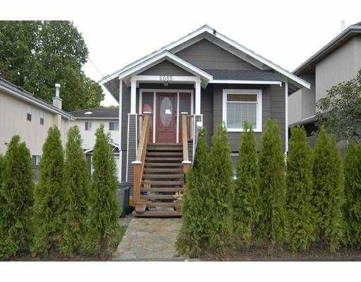Main Photo: 6085 QUEBEC Street in Vancouver: Main House for sale (Vancouver East)  : MLS®# V672848