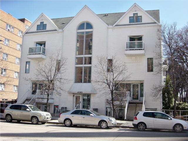 Main Photo: 430 River Avenue in WINNIPEG: Fort Rouge / Crescentwood / Riverview Condominium for sale (South Winnipeg)  : MLS®# 1005827