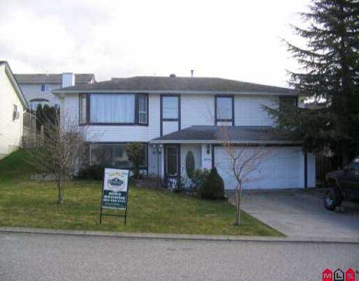 Main Photo: 3294 PURCELL AV in Abbotsford: Abbotsford East House for sale : MLS®# F2604034