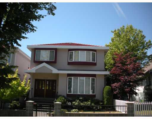 Main Photo: 6189 ONTARIO Street in Vancouver: Oakridge VW House for sale (Vancouver West)  : MLS®# V778066